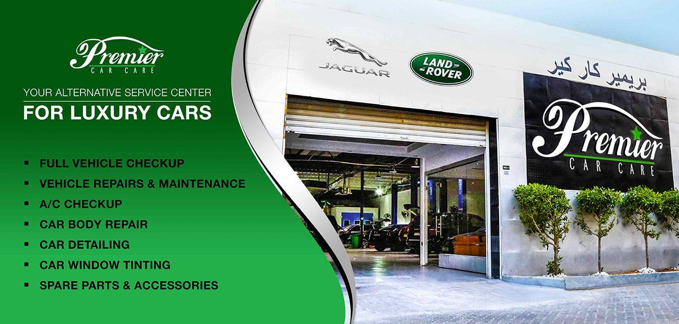 Premier Car Care Dubai - Car Servicing and Repairing for Land Rover